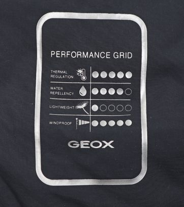 Detail Geox Parka Goose Donkerblauw