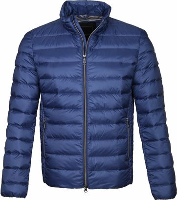 Geox Respira Puff Jacket Blue