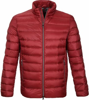Geox Warrens Jacket Red