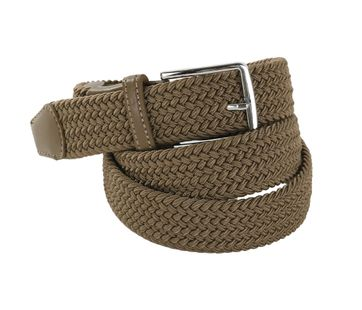 Geweven Riem Safari Green