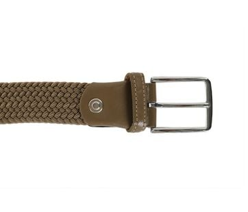 Detail Geweven Riem Safari Green