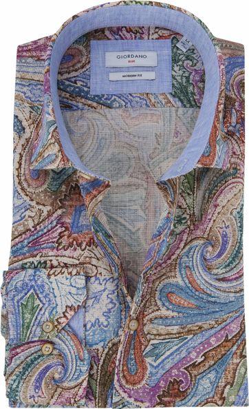 Giordano Hemd Baggio Multicolour