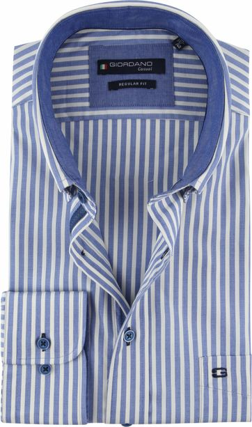 Giordano Kennedy Shirt Stripes