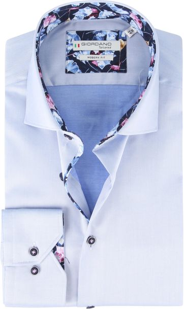 Giordano Overhemd Baggio Blauw
