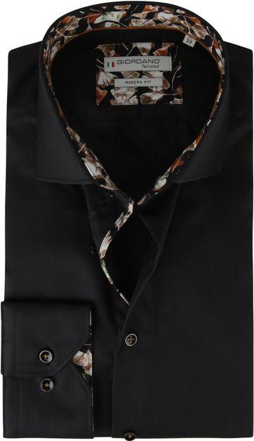 Giordano Overhemd Baggio Zwart