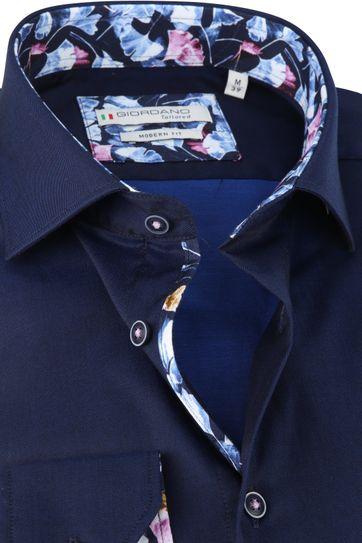 Giordano Overhemd Donkerblauw Baggio