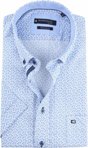 Giordano Overhemd John Blauw
