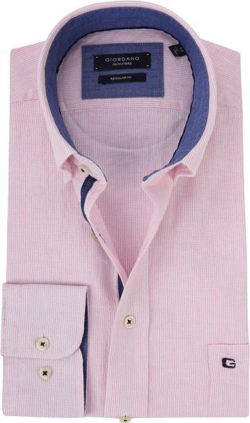 Giordano Overhemd Kennedy Roze