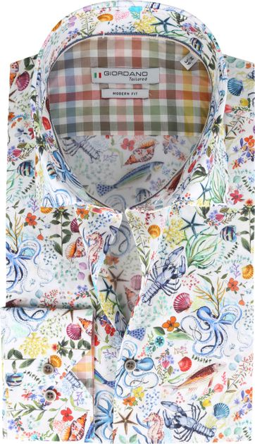 Giordano Overhemd Maggiore Kleurrijk