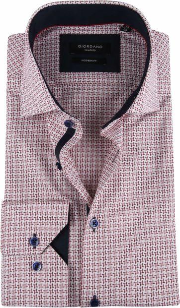 Giordano Overhemd TF Dessin