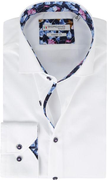 Giordano Overhemd Wit Baggio