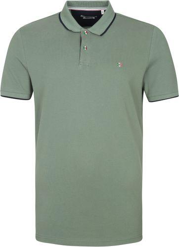 Giordano Polo Shirt Nico Olive Green