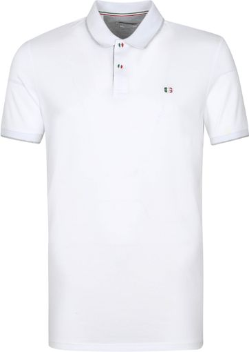 Giordano Polo Shirt Nico White