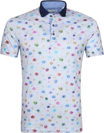 Giordano Poloshirt Multicolour Rozen