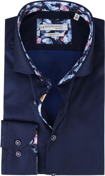 Giordano Shirt Baggio Dark Blue