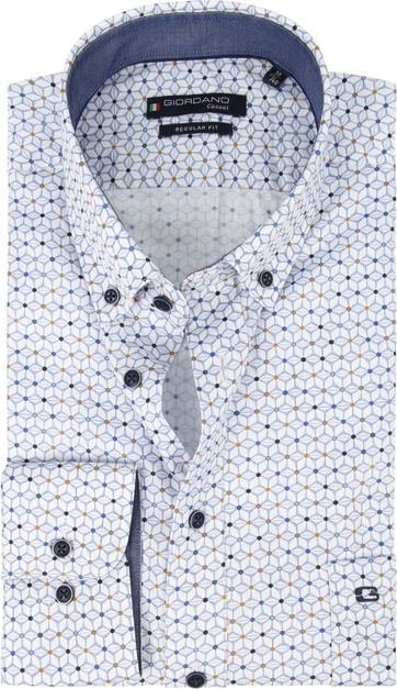 Giordano Shirt Graphic Blue