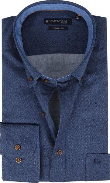 Giordano Shirt Ivy Navy