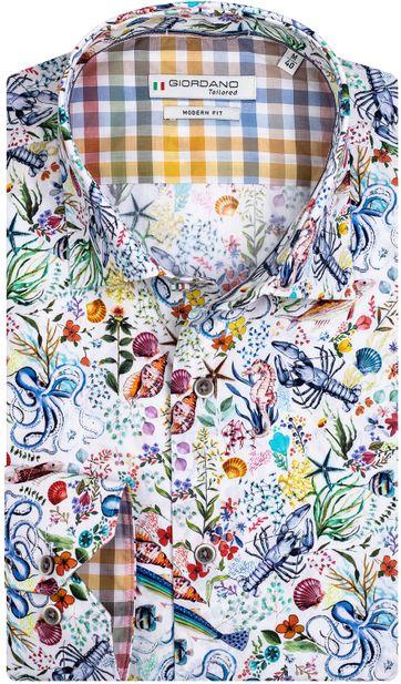 Giordano Shirt Maggiore Multicolour