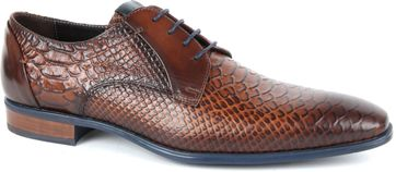 Giorgio Adanti Derby Leather Shoe Brown