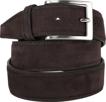 Giorgio Amalfi Belt Dark Brown