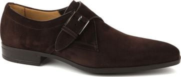 Giorgio Amalfi Shoe Monk Strap Brown