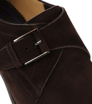 Giorgio Amalfi Shoe Monk Strap Brown