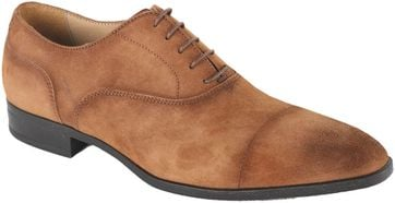 Giorgio Asiago Shoes Brown Suede