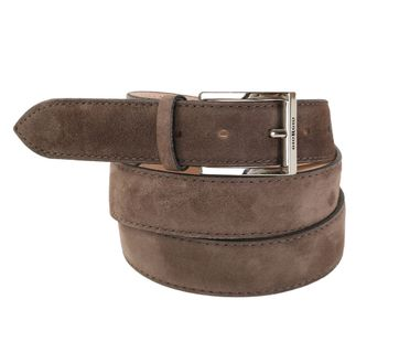 Giorgio Belt Brown Suede