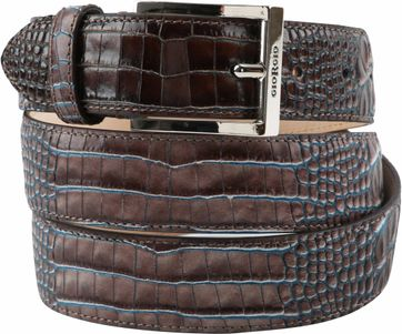 Giorgio Belt Cerby Brown Blue