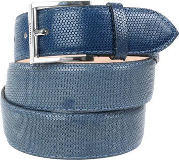 Giorgio Belt Pellame Dark Blue