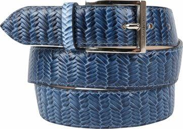 Giorgio Belt Spina Blue