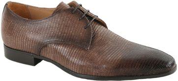 Giorgio Brogues Shoes Cognac