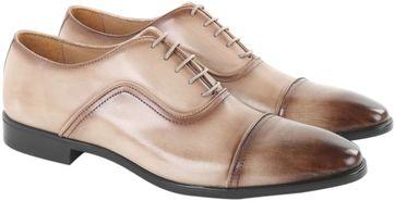 Giorgio Derby Schuhe Beige