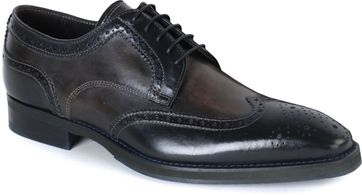 Giorgio Forli Lace-up Shoes Wingtip Brogues Black