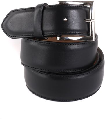 Giorgio Leather Belt Black
