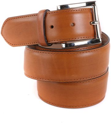 Giorgio Leather Belt Cognac