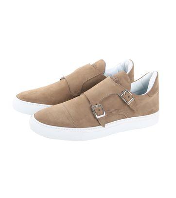 Giorgio Monkstrap Sneaker Beige