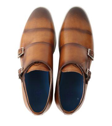 Detail Giorgio Monkstrap Sneaker Bruin