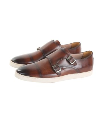 Giorgio Monkstrap Sneaker Cognac