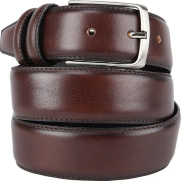Giorgio Scandicci Belt Dark Brown