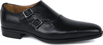 Giorgio Scandicci Leather Shoe Nero Black
