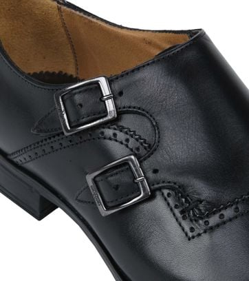Giorgio Scandicci Leather Shoe Nero Black