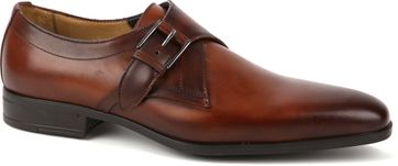 Giorgio Scandicci Shoe Brown Monk Strap