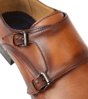 Giorgio Scandicci Shoe Monk Strap Brown