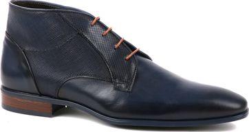 Giorgio Schuh Leder Montana Blau