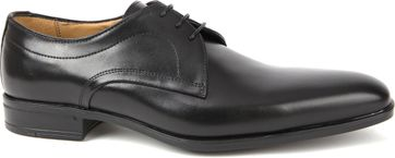 Giorgio Serrano Leather Shoe Black