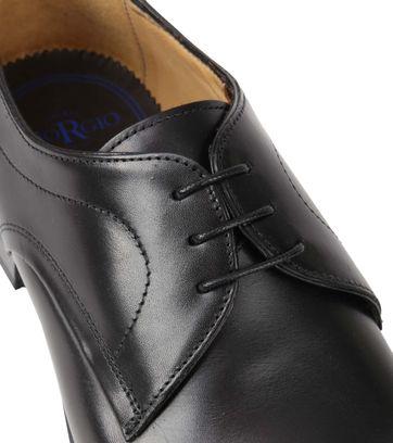 Giorgio Serrano Leather Shoe Black