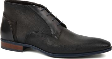 Giorgio Shoe Leather Adanti Canvas Dark Grey