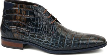 Giorgio Shoe Leather Adanti Dandy Navy