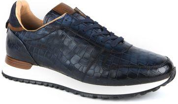 Giorgio Sneaker Adanti Croco Navy